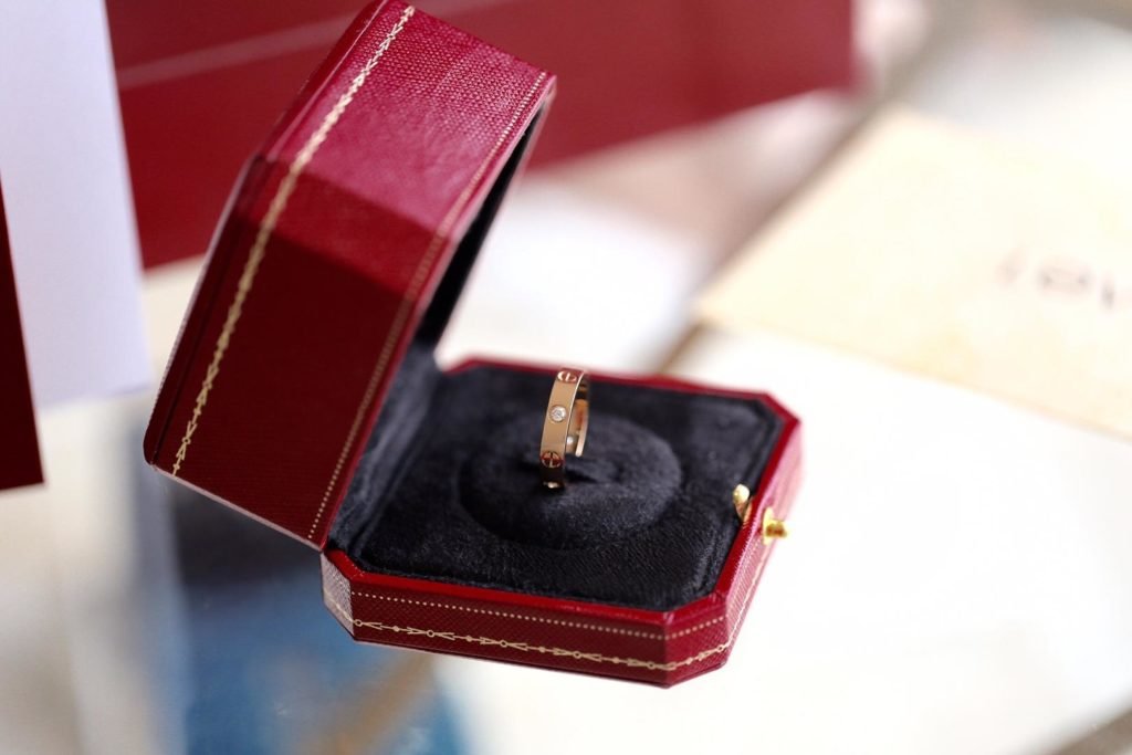 Cartier LOVE Ring. Rose Gold. Small Model