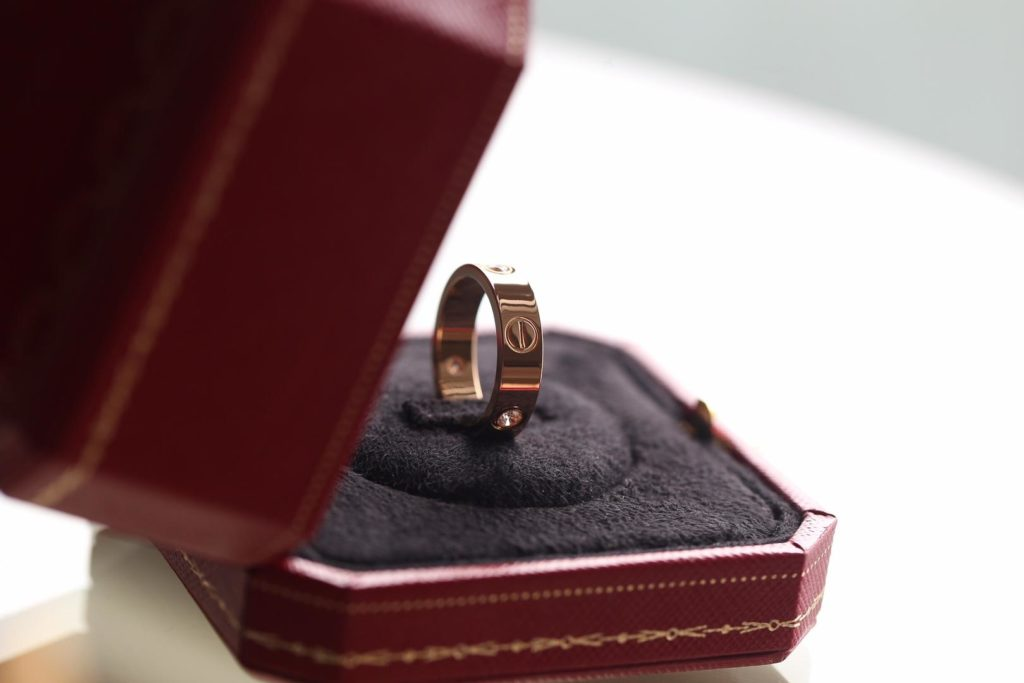 Cartier LOVE Ring. Rose Gold. Classic