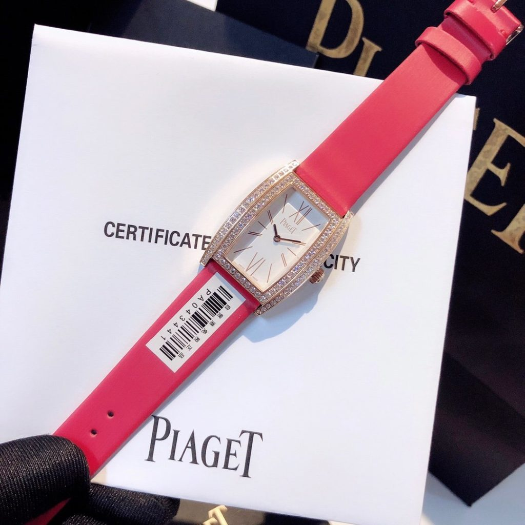 RED PIAGET DIAMONDS WATCHES