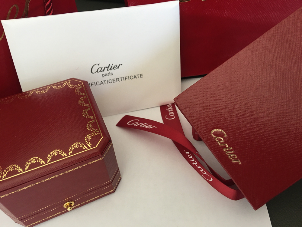 Cartier Love Ring red box packaging sets